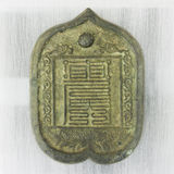 Ancient chinese bronze mirrors Royalty Free Stock Photo