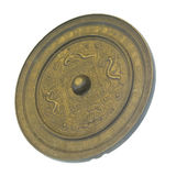 Ancient chinese bronze mirrors Stock Photos