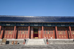 Ancient Chinese building Royalty Free Stock Photos
