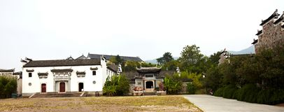 Ancient chinese buildings Stock Photography