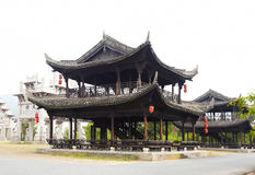 Ancient chinese buildings Royalty Free Stock Photos