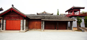 Ancient chinese buildings Royalty Free Stock Photo