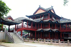 Ancient chinese buildings Royalty Free Stock Image