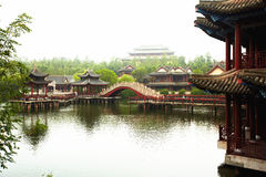 Ancient chinese buildings Stock Image