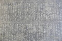 Ancient chinese calligraphy art Stock Image
