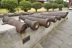 Ancient Chinese cannon Royalty Free Stock Photo