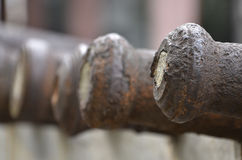 Ancient Chinese cannon Royalty Free Stock Images