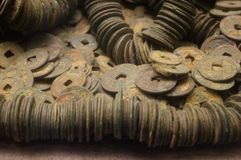Ancient Chinese coins Royalty Free Stock Image