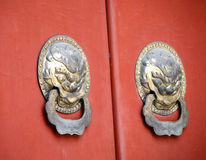 Ancient Chinese door Stock Image