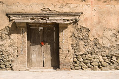 Ancient Chinese doorway Stock Photo