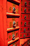 Ancient Chinese Drawers Royalty Free Stock Photo