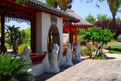 Ancient Chinese Garden Five Royalty Free Stock Photography