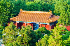 Ancient Chinese gatetower Royalty Free Stock Images