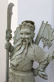 Ancient chinese god statue Royalty Free Stock Photo
