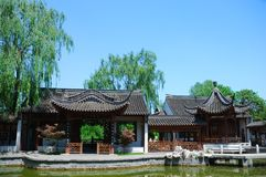 Ancient chinese house Royalty Free Stock Photo