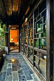 Ancient chinese house interior Stock Photo