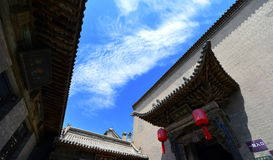 Ancient Chinese Houses Royalty Free Stock Photography