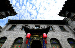 Ancient Chinese Houses Stock Photography