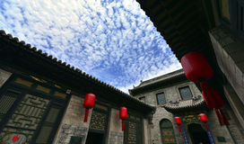 Ancient Chinese Houses Royalty Free Stock Image