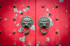 Ancient Chinese Knockers Royalty Free Stock Images