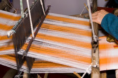 Ancient Chinese loom Royalty Free Stock Image