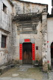 Ancient chinese old house Royalty Free Stock Photos
