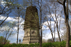 Ancient chinese pagoda Stock Photography