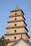 Ancient Chinese pagoda Royalty Free Stock Photography