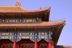 Ancient chinese pagoda (Beijing, China) Stock Images