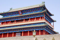 Ancient chinese pagoda (Beijing, China) Royalty Free Stock Images