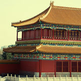 Ancient chinese pagoda (Beijing, China) Royalty Free Stock Image