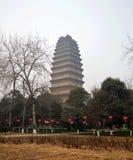 Ancient Chinese pagoda. Xian China Royalty Free Stock Photos