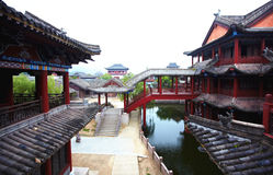 Ancient chinese palace Royalty Free Stock Image