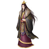 Ancient Chinese People Artwork: Rich Young Gentle Man. Video Game`s Digital CG Artwork, Concept Illustration, Realistic Cartoon Style Background and Character vector illustration