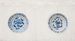 Ancient chinese porcelain Royalty Free Stock Photography