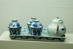 Ancient Chinese porcelains Royalty Free Stock Images