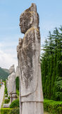 Ancient Chinese sculpture Royalty Free Stock Photos