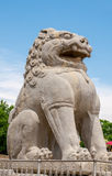 Ancient Chinese sculpture Stock Photos