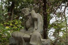 Stone buddha figure Stock Photo