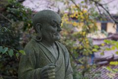 Stone buddha figure Stock Photography