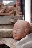 Ancient Chinese stone carvings Royalty Free Stock Photography