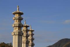 Ancient chinese stupa Royalty Free Stock Photo