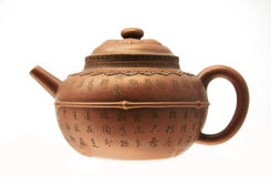 Ancient Chinese teapot royalty free stock image