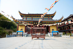Ancient Chinese Temple Royalty Free Stock Photos