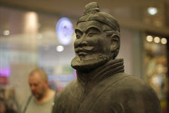 Ancient Chinese Terracotta Army Royalty Free Stock Photo