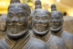 Ancient Chinese Terracotta Army Royalty Free Stock Photography
