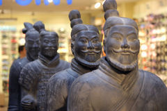 Ancient Chinese Terracotta Army Stock Photography