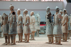 The ancient  Chinese Terracotta Army Royalty Free Stock Image