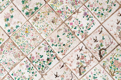 Ancient Chinese tiles Royalty Free Stock Photography
