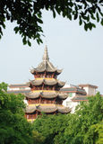 Ancient chinese tower Royalty Free Stock Images